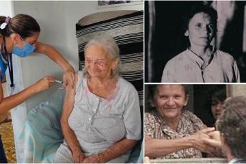 PARA VIVER! Elizabeth Teixeira do documentário 'Cabra Marcado para Morrer', é vacinada aos 96 anos