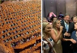 Lira e convidados beberam champanhe sobre uma montanha de 227 mil cadáveres – Por Reinaldo Azevedo