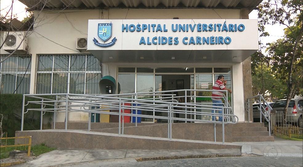 hu alcides carneiro - Hospital Universitário de Campina Grande recebe pacientes de Manaus nesta quarta-feira (03)