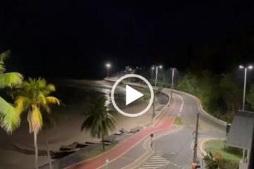 Toque de recolher em JP: bairros de Manaíra e Cabo Branco cumprem novo decreto e ruas ficam vazias – VEJA VÍDEOS