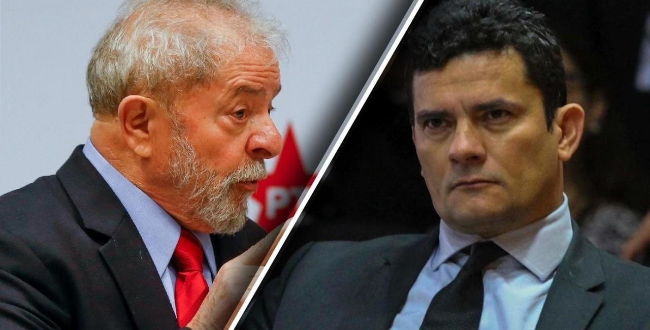 lula e moro 1 - Lava Jato é o maior escândalo judicial da história brasileira, diz professor em artigo no New York Times