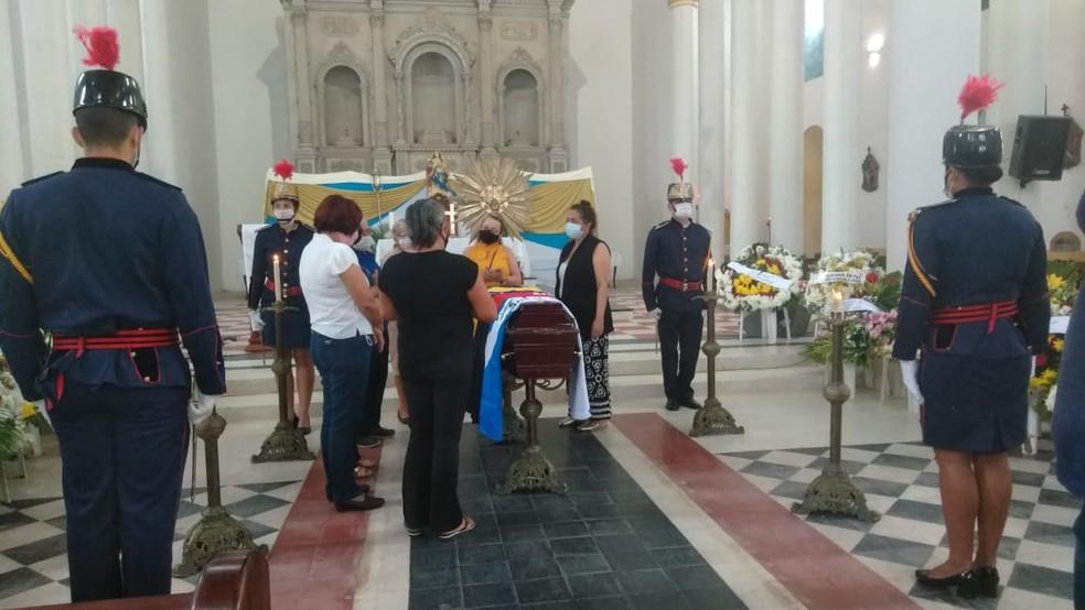 maranhao araruna - PARAÍBA ENLUTADA: Corpo de José Maranhão é velado em Araruna; sepultamento será nesta quarta-feira