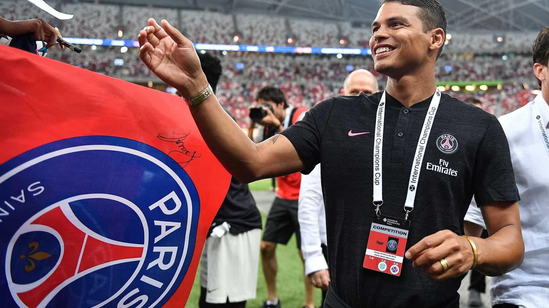 naom 5ba02f5eaa448 - Thiago Silva desabafa sobre saída do PSG: 'Merecia muito mais respeito'