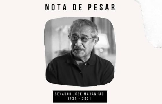 nota de pesar psb - Ricardo Coutinho envia mensagens de condolências à família de José Maranhão