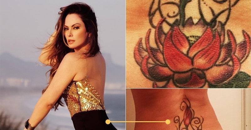 nubiaoliver rep inst 02 e1614113566324 - Anitta, Bruna Marquezine e mais 12 famosas aderiram a tatuagens íntimas - VEJA