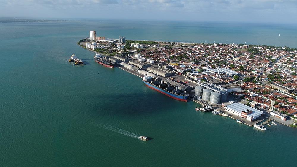 porto de cabedelo - Porto de Cabedelo bate recorde e aumenta 61,31% a movimentação de cargas em janeiro de 2021