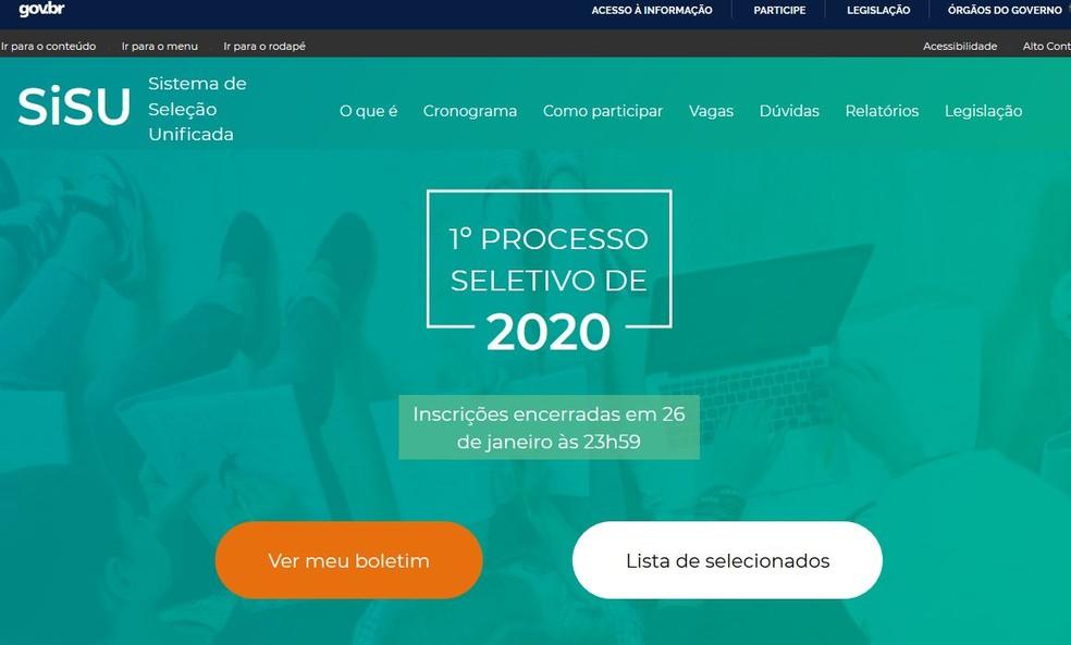 sisu resultado - SISU 2021: MEC prorroga prazo de adesão para instituições