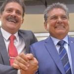 tiao e galdino 750x375 1 1 - Tião Gomes lança Adriano Galdino e afirma que deputado 'é o melhor quadro da Paraíba para o Senado'