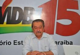 """MDB, partido do senador José Maranhão, lamenta morte do paraibano: """"Legado em defesa da democracia"""""""