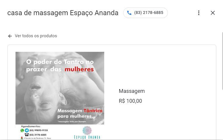 """002 - CAMINHOS DO PRAZER: casas de massagem em João Pessoa oferecem satisfação com massagem excitante e até """"ejaculação espetacular""""; confira"""