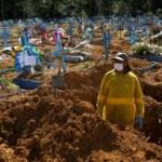 116507430 tv065176066 - AGRAVAMENTO DA PANDEMIA: Brasil registra 1.726 mortes em 24 horas e bate novo recorde; total chega a 257,5 mil