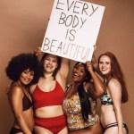 64798173f4cf1cee0a7112202f5dd59e - PRESSÕES ESTÉTICAS: Movimento 'Body Positive' ou 'Corpo Livre' ajuda mulheres a se libertarem