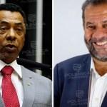 Damião Feliciano e Carlos Luppi - 'Damião Feliciano foi extubado e se recupera bem', diz presidente nacional do PDT ao Polêmica
