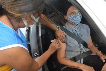 VACINACAO 87 ANOS MANAIRA SHOPING FOTOS KLEIDE TEIXEIRA  4 1024x683 1 - DOIS PONTOS DE DRIVE THRU: Idosos a partir de 82 anos são vacinados em João Pessoa