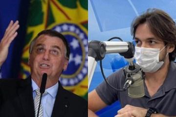 Deputado paraibano faz pedido ao presidente Bolsonaro: 'pare de aglomerar e use máscara'
