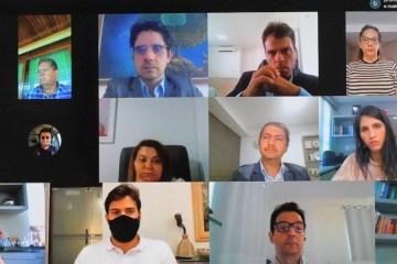Reunião: preocupação com Covid-19 une autoridades da PB, mas não há consenso quanto a 'remédio' contra pandemia