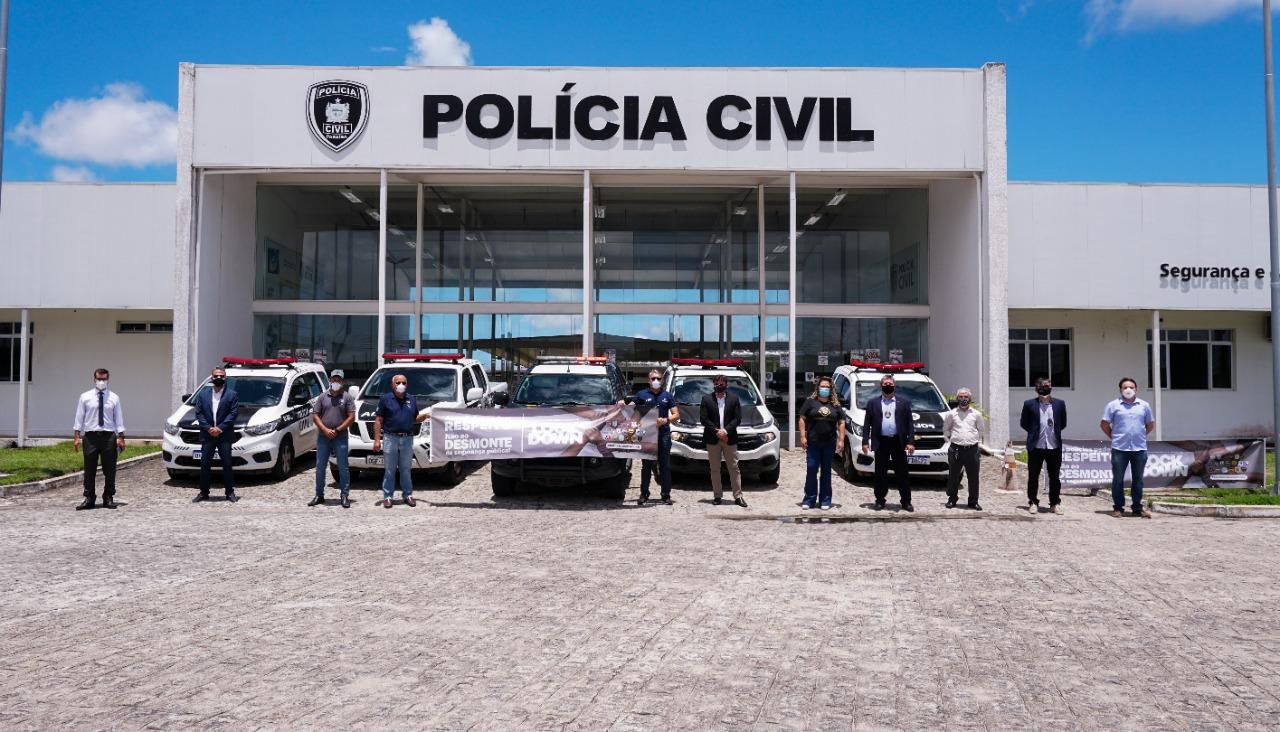 WhatsApp Image 2021 03 22 at 16.42.24 - Polícias da Paraíba paralisaram atividades pedindo vacinação para a classe; diretor da ASPOL diz que movimento é nacional