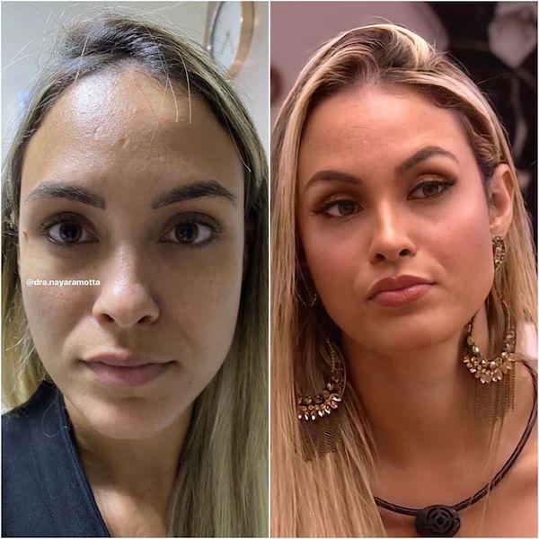 antes e depois sarah - ANTES X DEPOIS: Confira as fotos dos participantes do BBB21 que passaram por mudanças para o reality