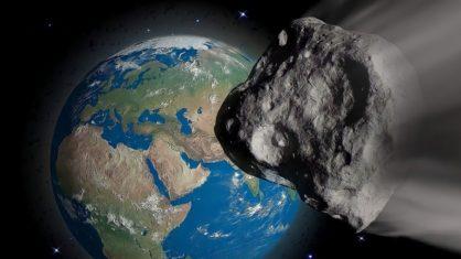 "asteroide - Asteroide ""potencialmente perigoso"" passará próximo à Terra neste domingo a 124 mil km/h"