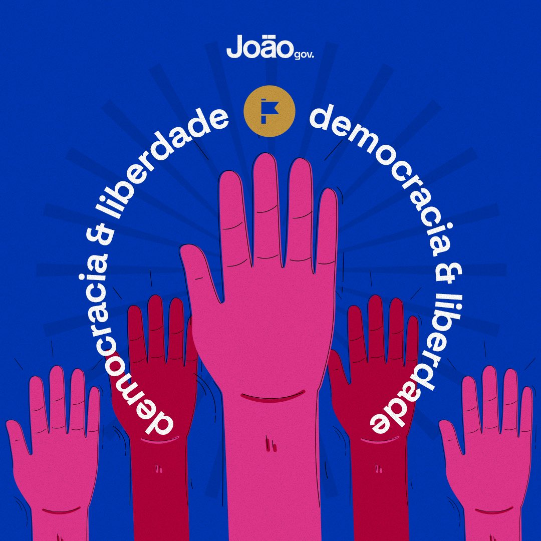 """democracia 1 - João Azevêdo lembra data do Golpe de 1964: """"Passado que não queremos ver de novo"""""""
