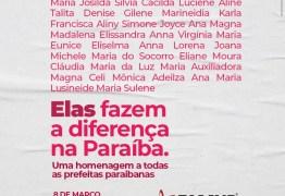 Paraíba tem 16,6% das prefeituras administradas por mulheres e supera média nacional de 12%