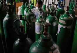 Saúde aponta que sete estados têm maior dificuldade em manter estoques de oxigênio; Paraíba não está na lista