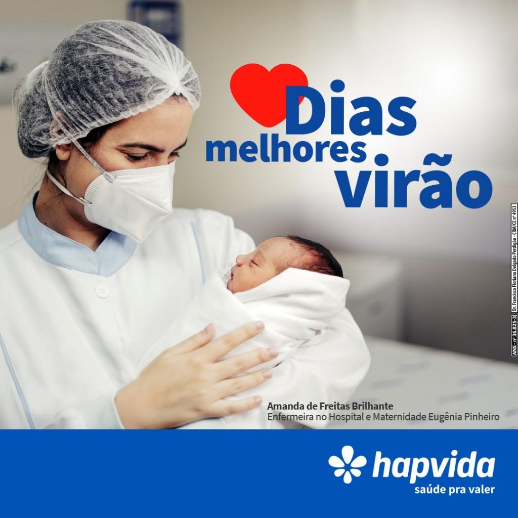 """1df8e6e0 3d51 48b4 8df2 9c64e1a5fa3c - Hapvida lança campanha """"Dias Melhores Virão"""", que ressalta acolhimento diário para vencer a pandemia"""