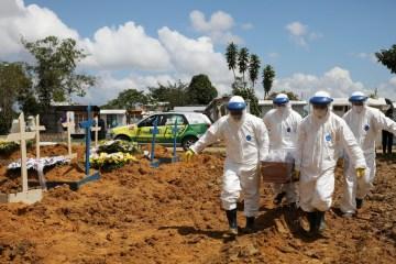 2021 01 17t192404z 1532442078 rc2v9l9v26nk rtrmadp 3 health coronavirus brazil - 439 MIL MORTES: Brasil registra mais 2.513 óbitos por Covid-19 em 24 horas
