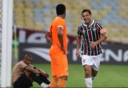 """Fred comemora histórico gol 400 da carreira e Kayke brinca com a própria contagem: """"Faltam 398"""""""