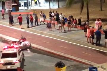 4af52202f77beb11ba59ce2056aa7878 5 - Polícia desfaz aglomeração promovida por cerca de 30 pessoas na orla de João Pessoa