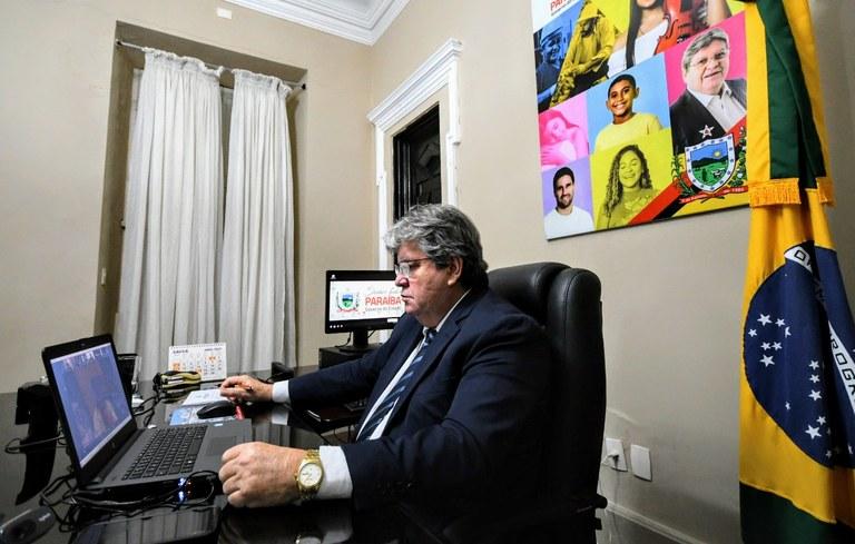 7fa722ce 471e 4190 8fe0 df4732e48039 - João Azevêdo e demais governadores solicitam à ONU ajuda humanitária para o enfrentamento da Covid-19 no Brasil