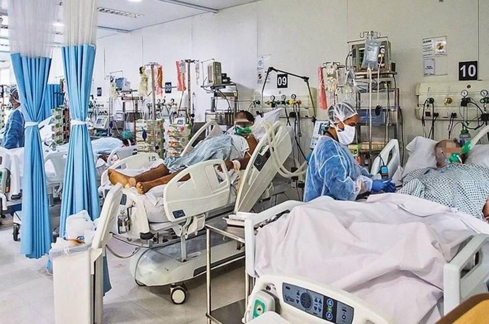 Alto risco hospital esta com particulas de coronavirus no ar - Paraíba tem menor número de pacientes internados por Covid-19 desde 07 de março