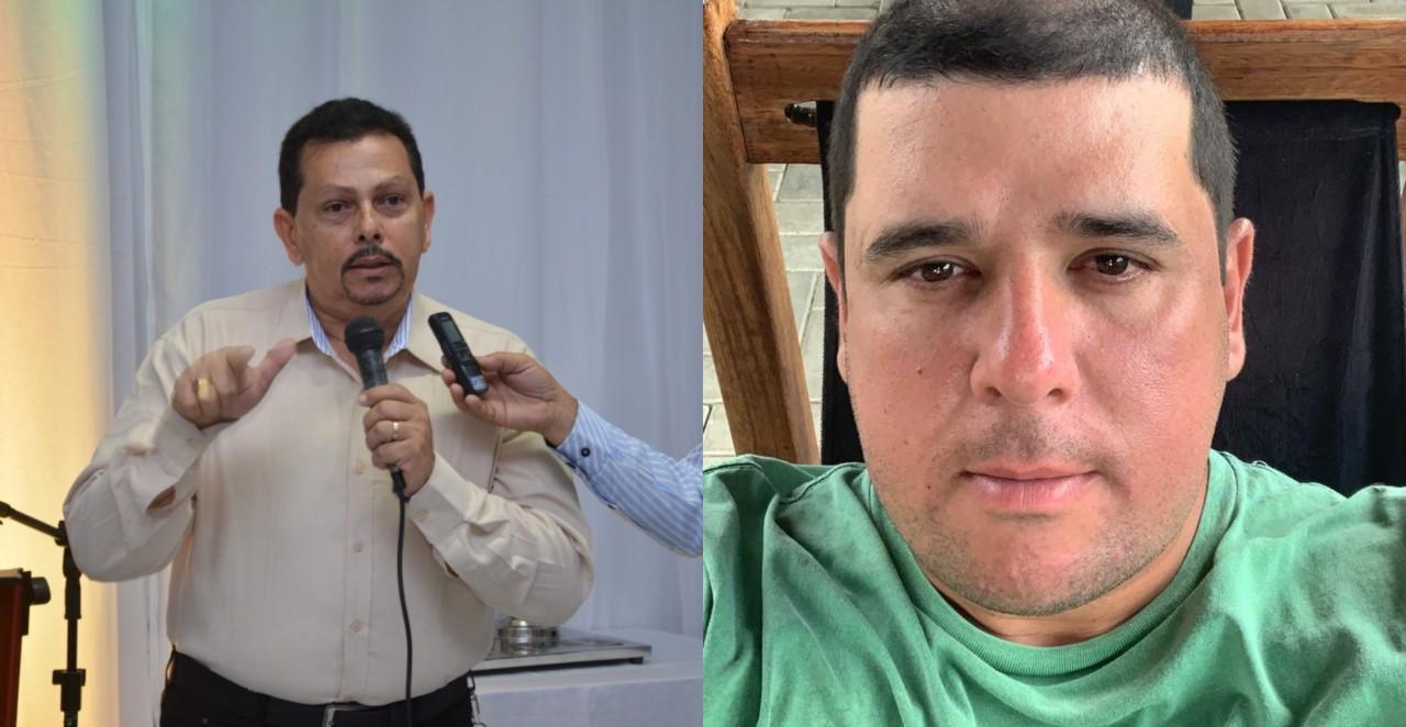 BeFunky collage - Eleição para síndicos do Condômino Aguas da Serra: Clodomiro Frazão e Bruno Vilarim são reeleitos