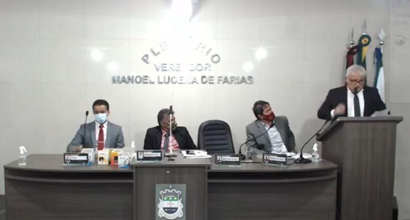 Capturar 63 - IMPROBIDADE ADMINISTRATIVA: Vereador de Alhandra denuncia funcionária fantasma que recebe 6 mil + auxílio aluguel e trabalha na casa do sogro do prefeito  - VEJA VÍDEO