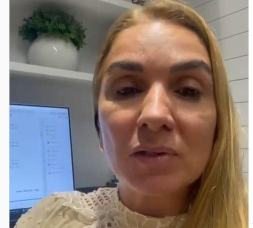 Capturar.JPGolol 1 - Primeira dama de Cabedelo, Daniela Ronconi, desmente fake news sobre traição - VEJA VÍDEO