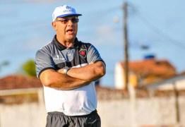 Sem vencer na temporada 2021, técnico Marcelo Vilar é demitido do Botafogo-PB