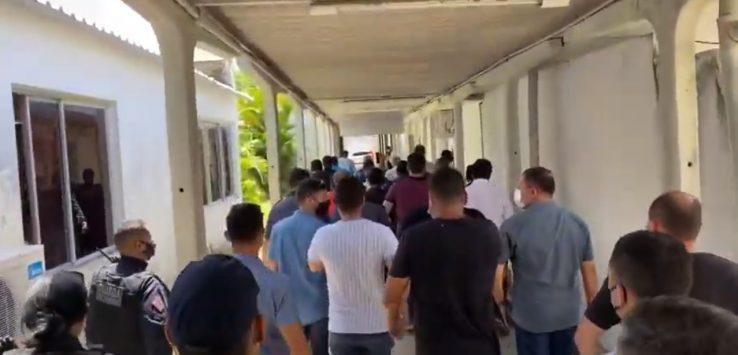 Protesto 738x355 1 - Após confusão em protesto de representantes da construção civil, PMJP lamenta ocorrido e reitera que está aberta ao diálogo