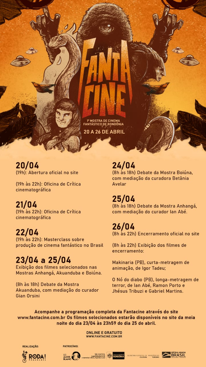 WhatsApp Image 2021 04 24 at 14.28.59 - Mostra de cinema de Rondônia organizada por paraibanos entra em cartaz; veja programação