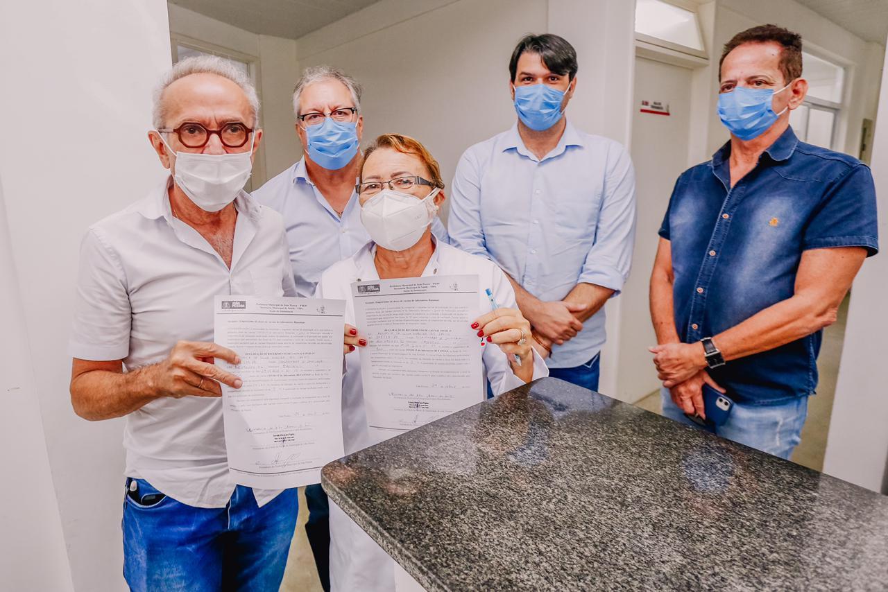 WhatsApp Image 2021 04 29 at 11.29.26 - PMJP irá emprestar 9 mil doses de CoronaVac para ajudar na imunização de cidades vizinhas