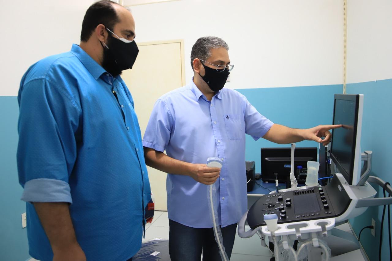 WhatsApp Image 2021 04 29 at 18.54.25 1 - Prefeitura de Patos instala novos aparelhos de ultrassom e retoma exames de especialidades no Centro Frei Damião