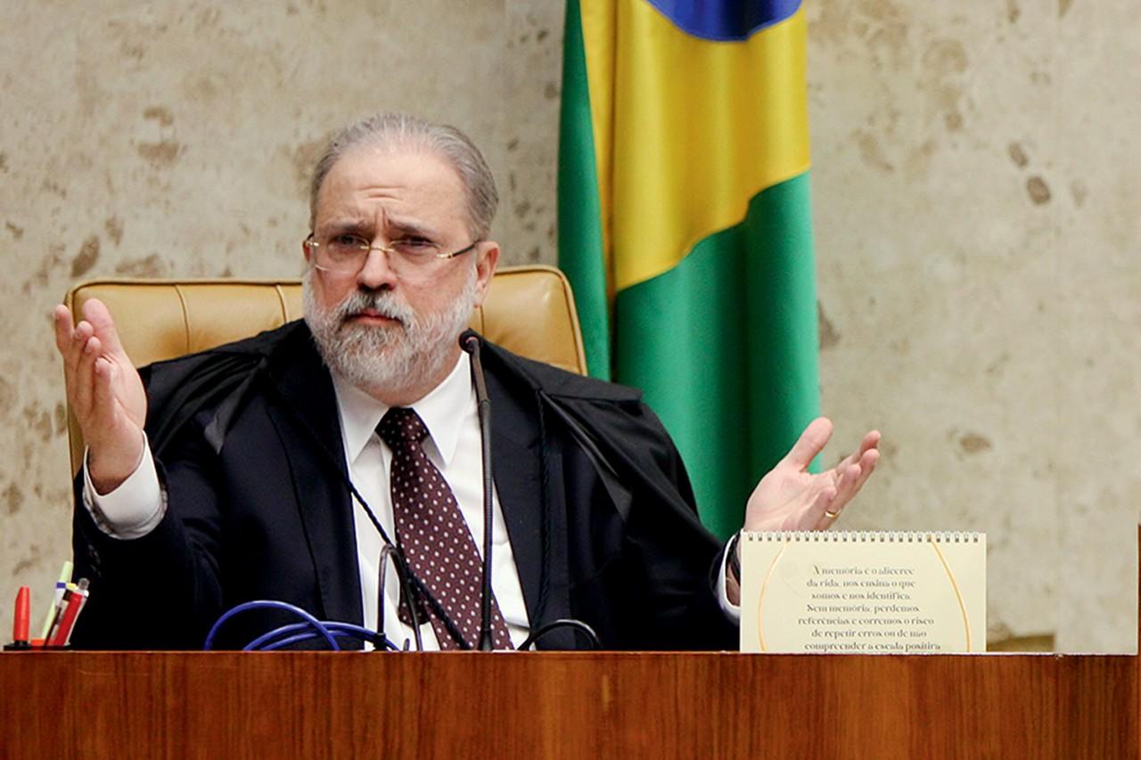 augusto aras 2020 982.jpg - Aras não vê crime em conversa entre Bolsonaro e Kajuru e pede arquivamento