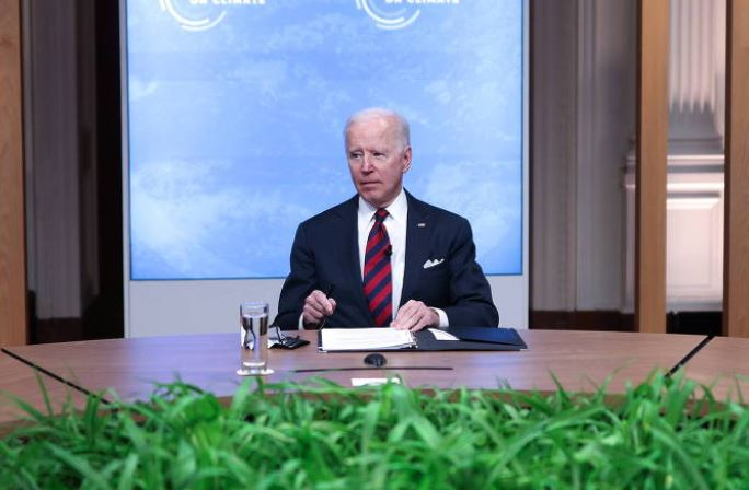 biden 1 - Biden classifica anúncios de Bolsonaro na Cúpula do Clima de 'notícias encorajadoras'