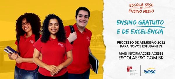campanha esem sesc mg email mkt - Escola Sesc de Ensino Médio abre processo seletivo para 2022
