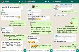 conversa 2 300x200 - Família relembra momentos antes de Patrícia Roberta desaparecer, em João Pessoa