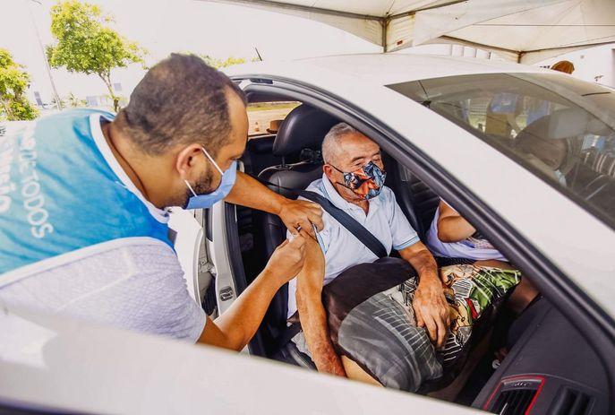 IMUNIZAÇÃO: Confira os pontos de vacinação contra Covid-19 em João Pessoa