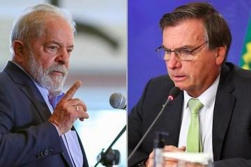 csmlulaxbolsonaro25343ce03b 00105784 0 - Pesquisa PoderData: Lula venceria Bolsonaro no 2º turno por 52% a 34%