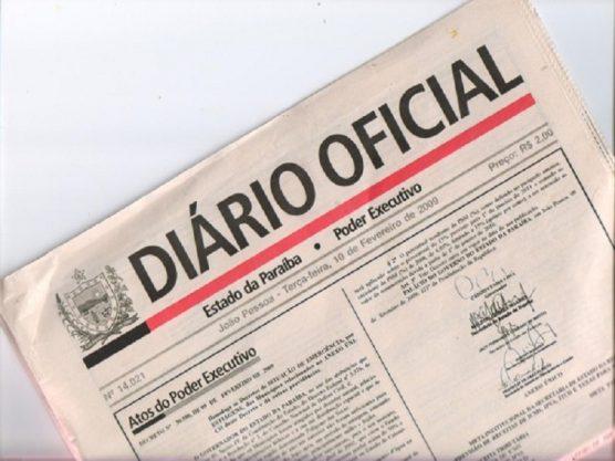 diario oficial - PANDEMIA DA COVID-19: Paraíba decreta estado de calamidade pública em 43 municípios - VEJA LISTA