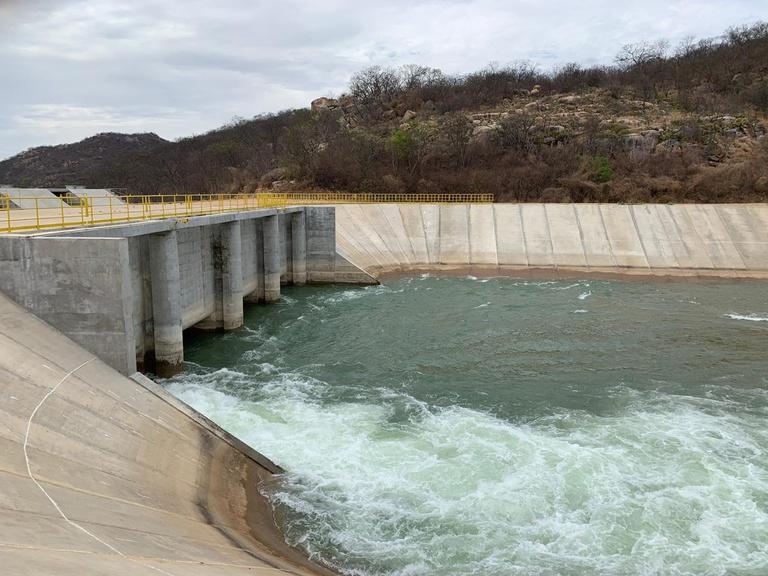 eixo norte transposicao - Paraíba e outros três estados terão bombeamento de águas do Eixo Norte da Transposição suspenso por 45 dias
