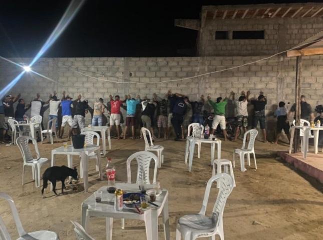 festa cg - Polícia Militar encerra festa clandestina com 17 pessoas no bairro São Januário