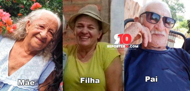 fil - Pai, mãe e filha morrem vítimas da Covid-19 em menos de um mês